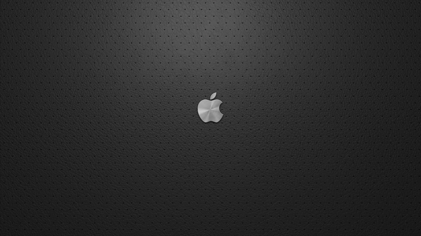 Download Wallpaper Apple Logo 1366x768 The Wallpapers