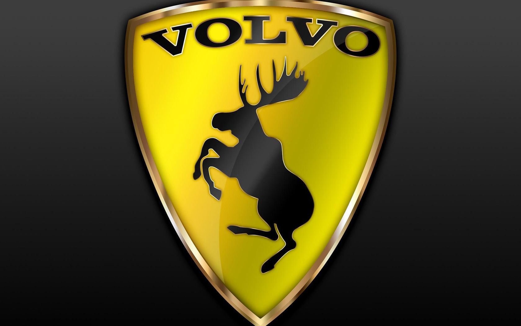 Download Wallpaper Volvo Logo 1680x1050 The Wallpapers
