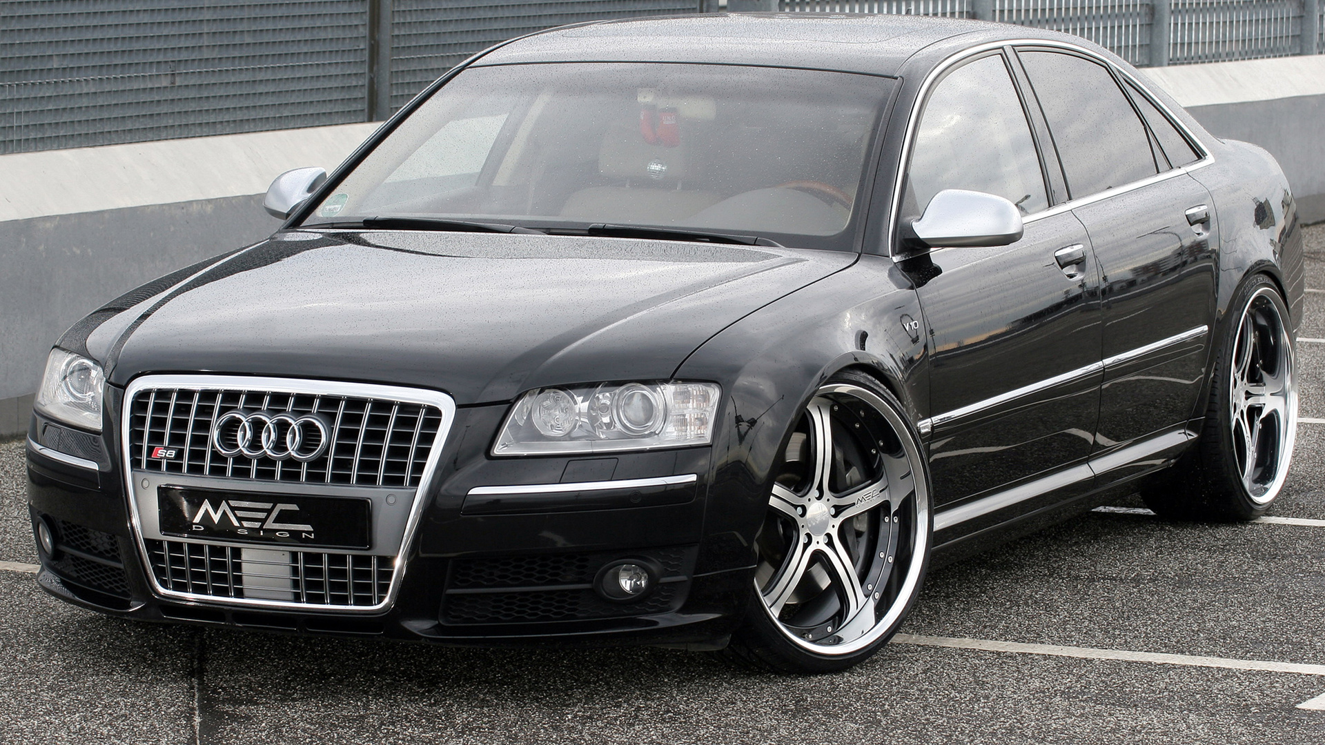 Download Wallpaper Audi S8 Tuning 1920x1080 The