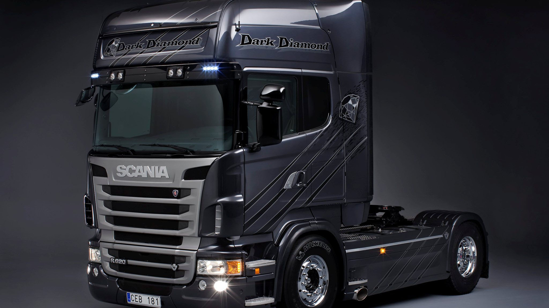 Wallpaper 1920x1080 Dark >> Download Wallpaper Scania Dark Diamond (1920x1080). The Wallpapers, photos