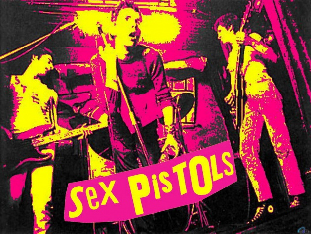 Sex pistols photo book