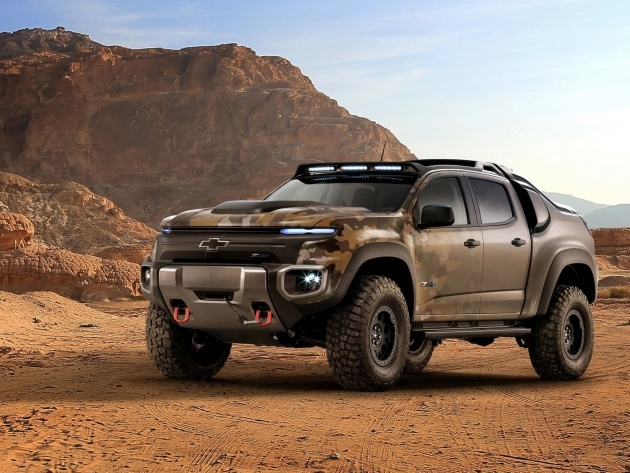Обои Chevrolet Colorado ZH2