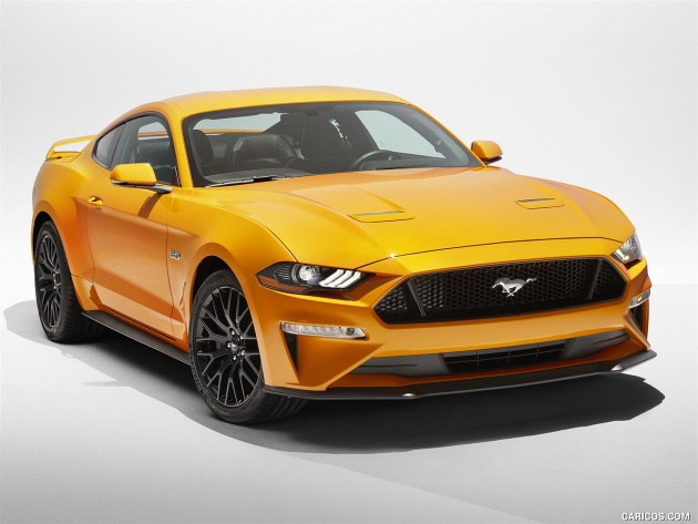 Обои Ford Mustang GT (2017)