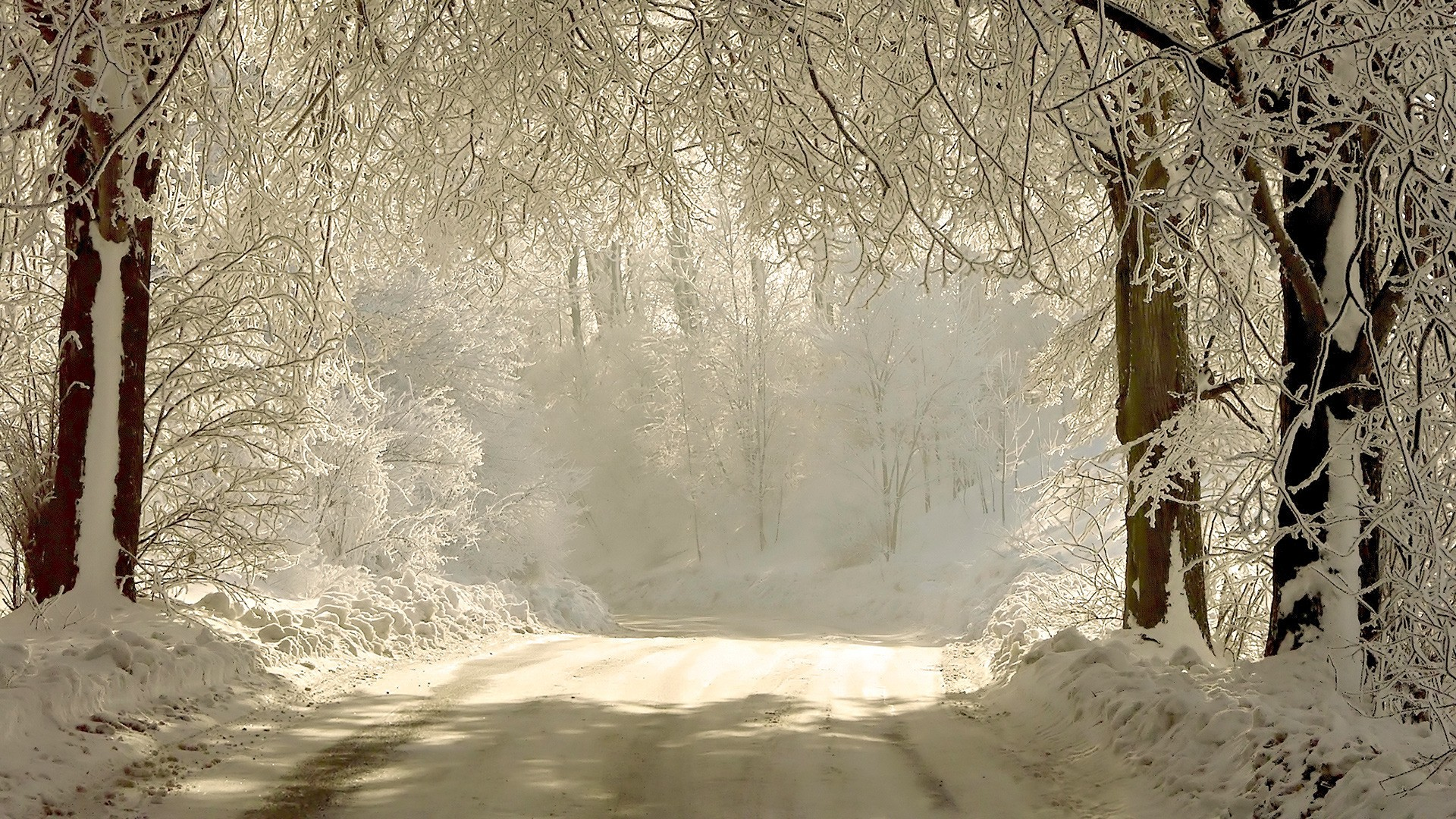 снег дорога зима snow road winter без смс